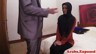 Arab habiba fucked as if a whore be proper of cash