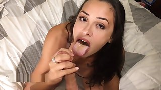 Horny Step Sister Loves Hot Cum On Will not hear of Light POV Big Facial Be useful to Alexa Arch