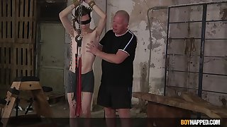 Sebastian Kane and Nathan Reyes delve into an sexy bondage encounter