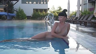 Lada - Morning Swimming Russian MILF Only
