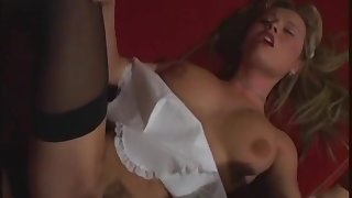 Hardcore anal gapping with hot maid Anastasia Christ