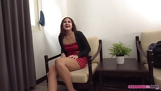 Pithy titted, Asian babe, Peen is getting fucked in front of a closed camera, to purchase cash