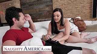 Naughty America - Whitney Wright fucks her friends fellow-countryman