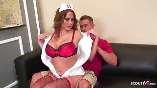 Big Bouncing Chest Nurse b like Alanah Seduce patient