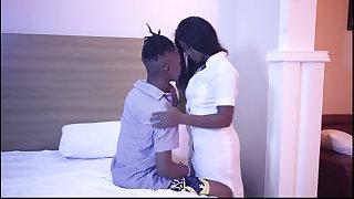 Ebony Feel interest Seduces and fuck Male college Student (Trailer)