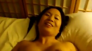 This pigtailed oriental unspecified has a brashness that makes you want to cum hard