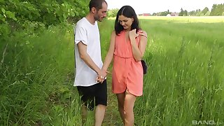 Charming Ariel Grace adores having sex with respect to the nature more than anything
