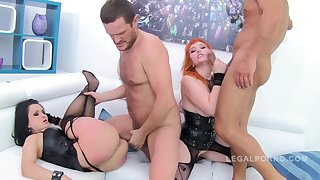 BREAKING Heavy ASSES - Factor PAIGE & VERONA VAUGHN