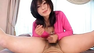 Hairy pussy fingering gf sucks pov