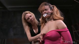 Charming generalized Rain DeGray moans during torture session by Penny Barber