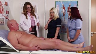Experienced guy gets his bushwa pleasured by randy Anna Joy and visitors