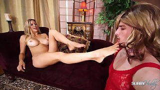 Femdom Stepmother Makes Me Her Slave Whore - Mature