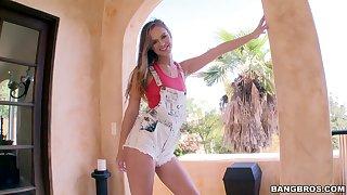 Homemade peculiar video with balls deep ass fucking for Jillian Janson